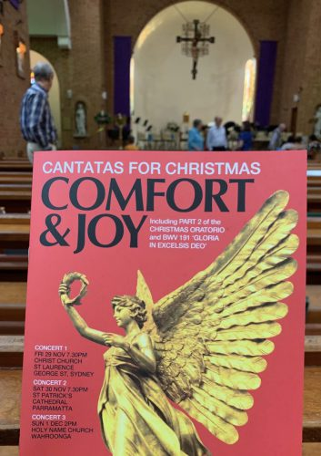Cantatas for Christmas isprogamme