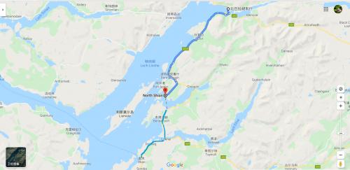Ballachulish (north) to Oban
