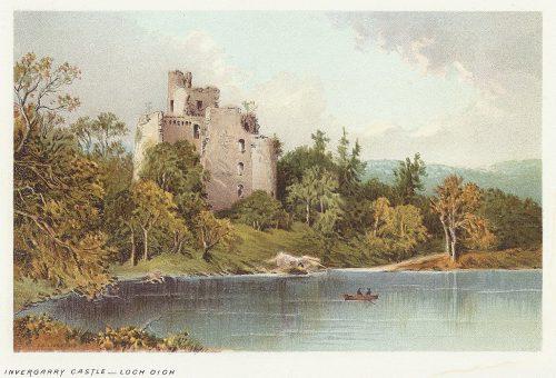 格伦加里城堡废墟