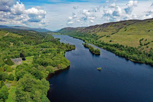 Loch Oich (Highlands, Scotland, UK)